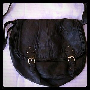 Black Cross-body purse